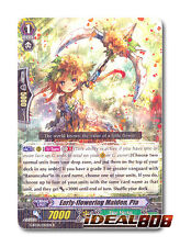 Cardfight Vanguard SOUL STRIKE x 4 Early-flowering Maiden, Pia - G-BT04/043EN -