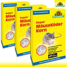 Neudorff 3 x 120 g Sugan® MäuseKöder Korn
