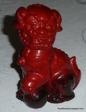 """Dog Of Fo"" Royal Doulton Flambe Figurine International Collectors Club - Gift!"