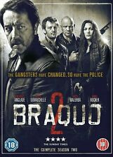 Braquo: Complete 2nd Season Dvd Jean-Hugues Anglade New & Factory Sealed