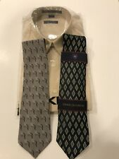 DKNY Dress Shirt and Two Ties