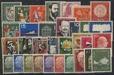 Bund Jahrgang 1957 - Auswahl aus Michel Nr. 249 - 280 , ** , postfrisch
