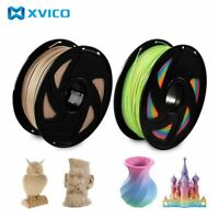 Color Changing Rainbow PLA 3D Printer Wood Filament Multicolor 1.75mm 1kg Print