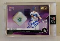 Cody Bellinger AUTO 2020 Topps Now PURPLE Postseason GU Base Patch Autograph /25