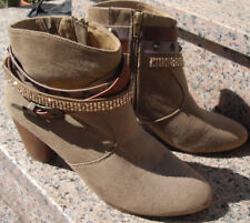 La Strada Boots Stiefelette Damenschuhe Stiefel braun Booties 41 Nieten Boho
