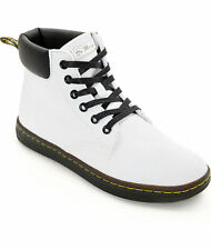 NEW Dr. Martens Women's Maelly White Ankle Bootie, Women Size 6 (4 UK) $95