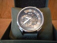 """AVI-8 AV-4070-01 Hawker Harrier II """"Ace of Spades"""" Automatic men's watch boxed n"""