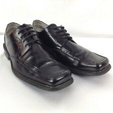 STACY ADAMS Men's Black Leather Oxfords Lace Up Dress Shoes Size 9M, # 21231-001
