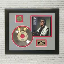 Carl Perkins Birth Of Rock N Roll Framed Picture Sleeve Gold 45 Record Display