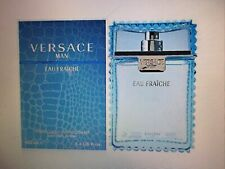 Versace Man Eau Fraiche ( Perfumed Deodorant) 3.4 Natural Spray Brand New! Seale