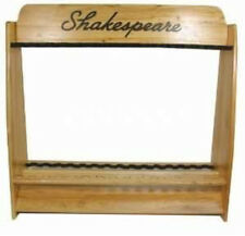 Shakespeare Wood Display Fishing Rod Stand - BRAND