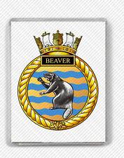 HMCS BEAVER ROYAL CANADIAN NAVY FRIDGE MAGNET