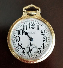 VERY FINE 16 SIZE HAMILTON 992 21J BOC MONTGOMERY DIAL POCKET WATCH FROM 1926