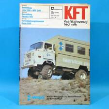 DDR KfT Kraftfahrzeugtechnik 12/1981 Lada 1300 Zastava 1100 Suzuki Alto Fiat 88