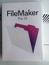 FileMaker Pro 13 for Mac/Win retail box with DVD