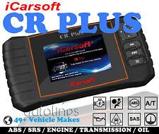 iCarsoft CR PLUS OBD2 OBDII Reset Diagnostic Scan Tool Car Fault Code Reader