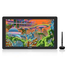 Huion Kamvas 22 Plus Graphics Drawing Tablet Display Qd Lcd Screen 140% s Rgb