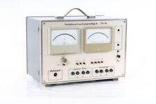 Old Tonhöhenschwankungsmessgerät Old Vintage Type TR79
