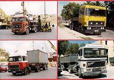 Malta Transport ~ 4 ERF Artics: Set 2 - Abela Bros: Gozo: Container - late 1990s