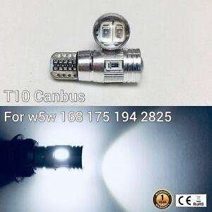 T10 194 168 2825 12961 License Plate Light 6K White 6 Canbus LED M1 For Toyota
