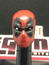 MARVEL LEGENDS PAINTED / FITTED VER.1 MCU DEADPOOL 1:12 HEAD CAST FOR 6IN FIGURE
