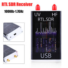 100KHz-1.7GHz  HF RTL-SDR USB Tuner Receiver R820T + 8232 Ham Radio Video AM