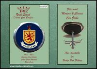 Royale Classic Car Grill Badge + Fittings - SCOTLAND B2.1104