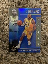 2019-20 Panini Illusions Lebron James Blue Parallel /25 !! 🔥🔥