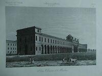 1845 Zuccagni-Orlandini Foro Boario di Modena