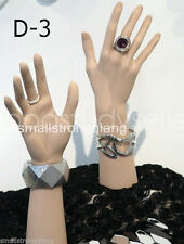 New Pvc Props Mannequin Hand Jewelry Rings Gloves Bracelet Watch Display