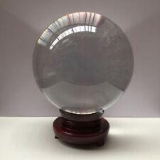 Glaskugel Kristallkugel Wahrsagerkugel Magie Paperweight Briefbeschwerer Ø 200mm