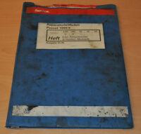 VW Passat B2 Typ 32 4 Zylinder Einspritzmotor 2 Ventiler 1988 Werkstatthandbuch