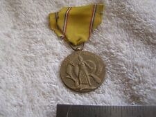 WWII Military American Defense Medal emergency service