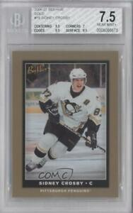 2006-07 Upper Deck Bee Hive Gold Sidney Crosby #19 BGS 7.5