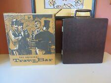 The Original Trav-L-Bar by Ewver-Wear Travel Bar Suitcase /Box Vintage Brown