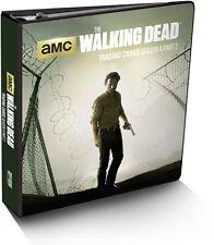 Walking Dead Season 4 Part 2 Trading Card Binder Album with Exclusive Metal Card