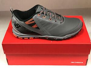 New Balance Minimus NBG1006GRO Grey/Orange Men's Golf Shoes 7.5M Were $100