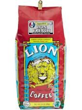 24 oz Lion Coffee: French, Auto Drip Grind, Ships Anywhere Today!
