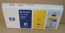 HP C4933A Nr. 81 Tintenpatrone gelb dye 680ml Designjet 5000 5500 MHD 09-2011