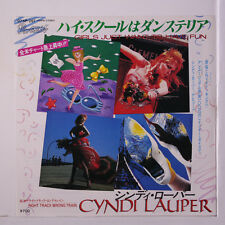 CYNDI LAUPER: Girls Just Want To Have Fun 45 (Japan, PS insert, w/ company slee