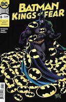 Batman Comic Issue 6 Kings Of Fear Modern Age First Print 2019 Peterson Jones DC