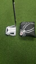 Taylor Made Spider X Chalk Single Bend Putter Gents 34 inch New