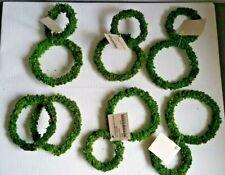 12 Corngras - Ringe zum Basteln und Dekorieren grün 6cm und 9cm versch. Größen