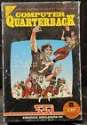 Computer Quarterback 2nd Edition Game For Commadore 64  C-64 Cib