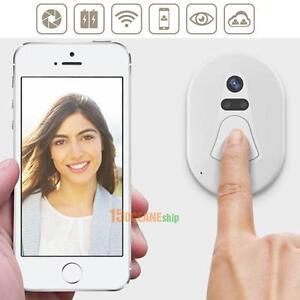 Wireless Doorbell Video Door Phone WIFI Auto Photo Cloud Storage Video Intercom