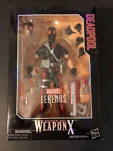 "Marvel Legends Series 12"" Deadpool Agent of Weapon X (C3990)"