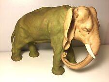 Ancien grand éléphant Art Deco en faience porcelaine allemande? german porcelain