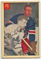 1954-55 Parkhurst Hockey #75 Nick Mickoski G-VG Condition (2020-13)