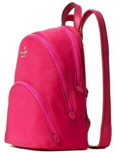 Kate Spade Karissa Magenta Nylon Medium Backpack Pink WKRU6586 NWT $279 MSRP FS