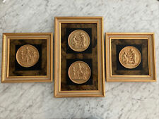 Greco-Roman Framed Engraving Set